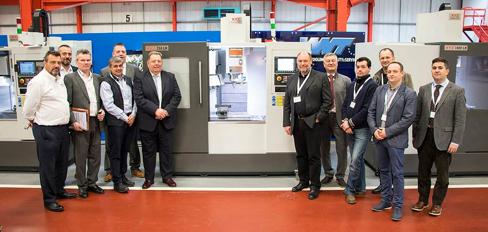 European potential for XYZ LR machines