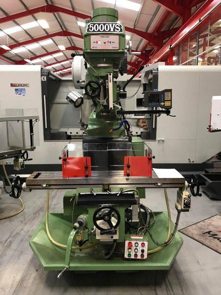 Used Europa 5000VS Turret Mill