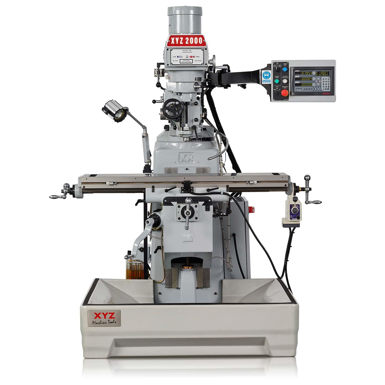 Manual Milling Machine : Xyz machine tools