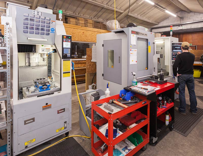 Precision Edge fills capacity gap with Lean Production Machine
