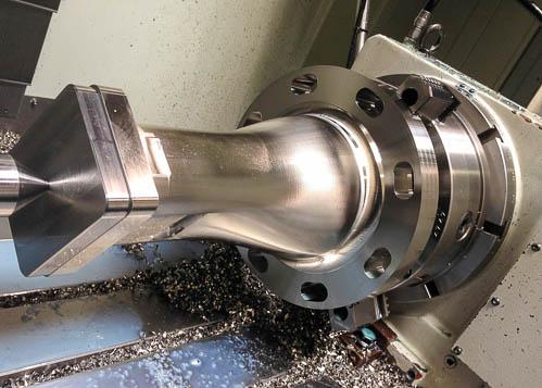 MH7 316 Stainless steel Burner exit adaptor