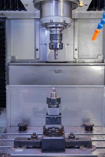 Phirst Precision Carbide work area