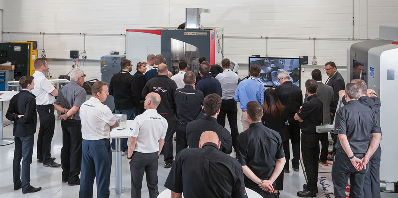 Customers excited by XYZ's five-axis offering