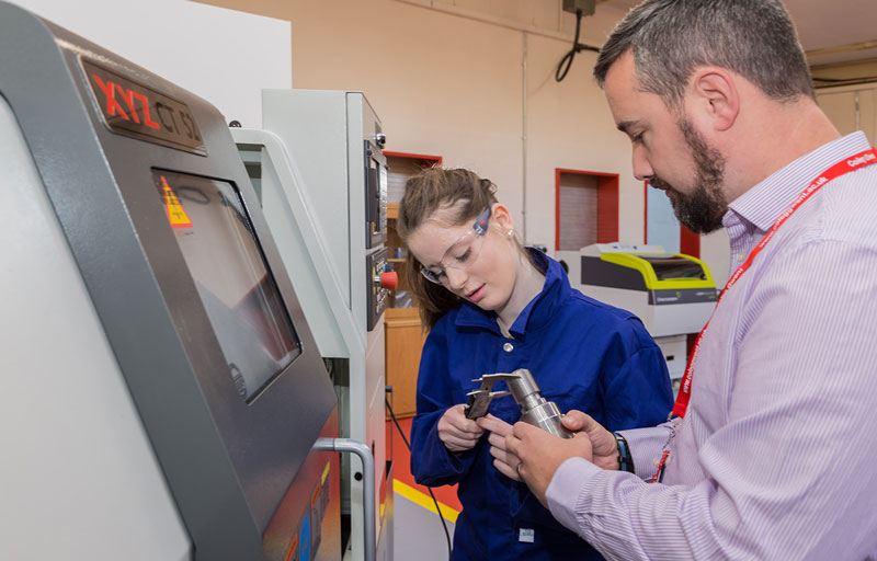 Coleg Gwent completes phase one  of CNC development