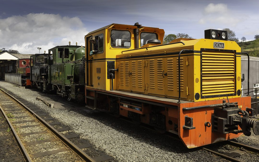 Keeping railway heritage rolling along
