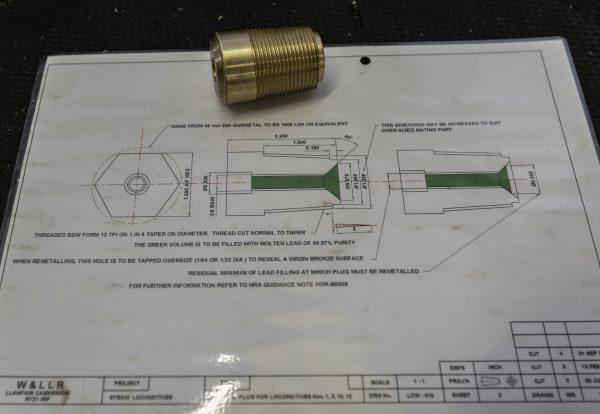 Welshpool Fusible Plug