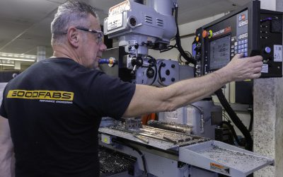 Goodfabs controls toolroom work with help from XYZ CNC turret mill