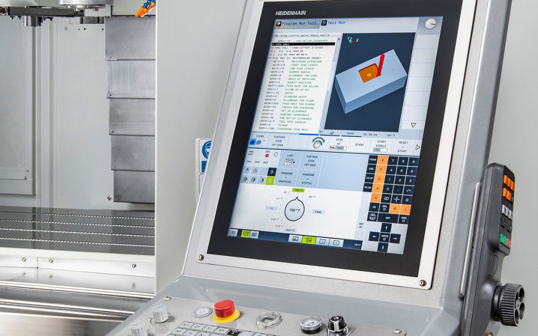 Control choice for XYZ heavy-duty vertical machining centres