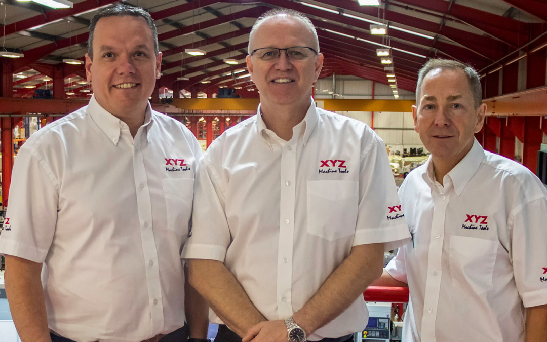 XYZ Machine Tools makes strategic management changes