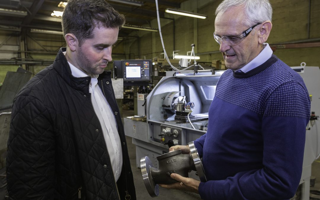 A bit of history – but Auld Valves looks  to the future with XYZ