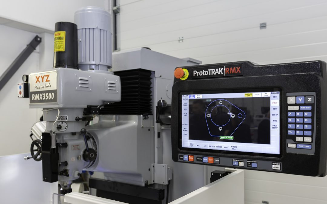 XYZ Machine Tools unveils new ProtoTRAK control at Southern Manufacturing