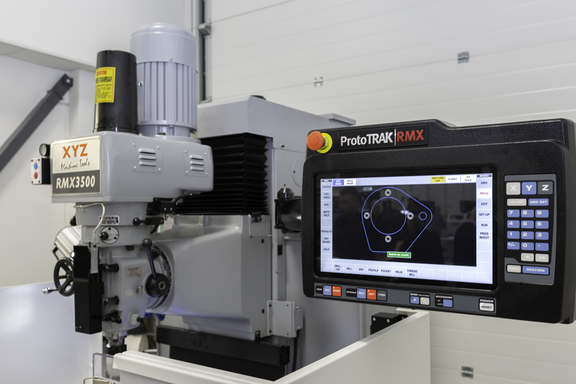 XYZ Machine Tools unveils new ProtoTRAK control at Southern