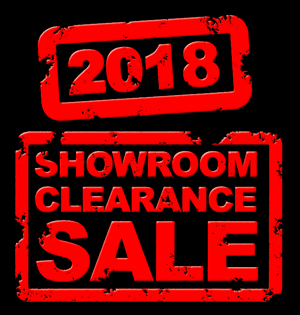 2018 Showroom Clearance