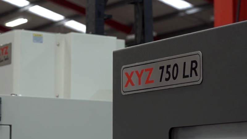 40 new XYZ 750 LR vertical machining centres EX STOCK