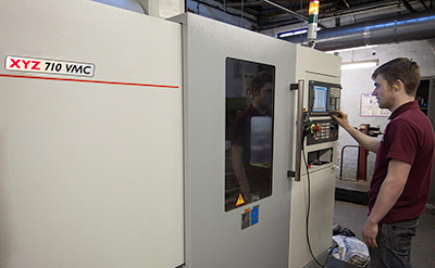 B & G Lock & Tool Company - XYZ 710 VMC
