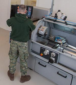 Hawker Restoration machining facility