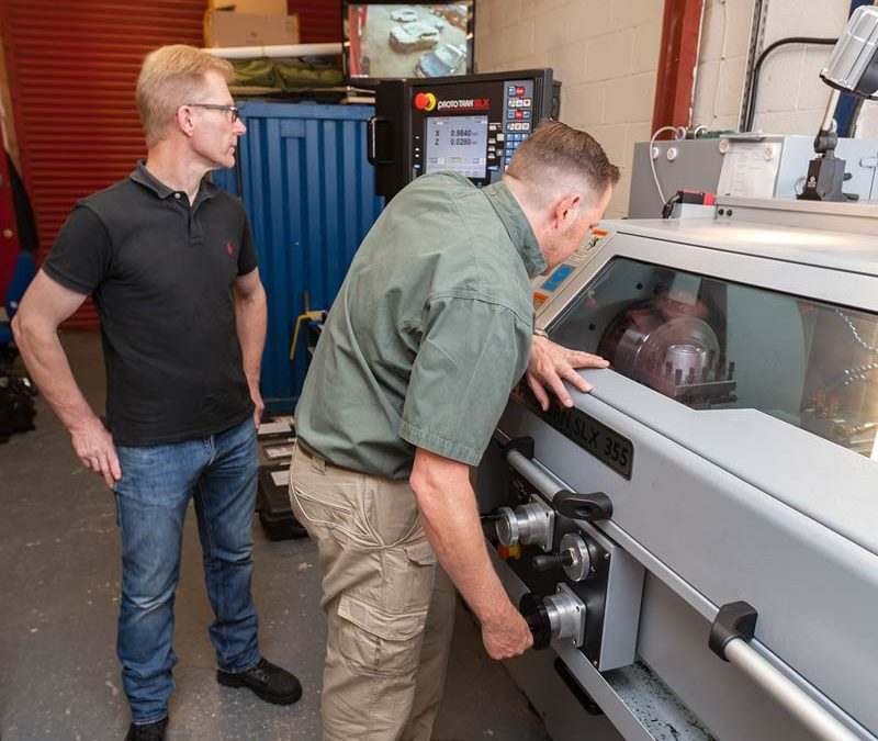 Specialists come together to provide custom gunsmithing service