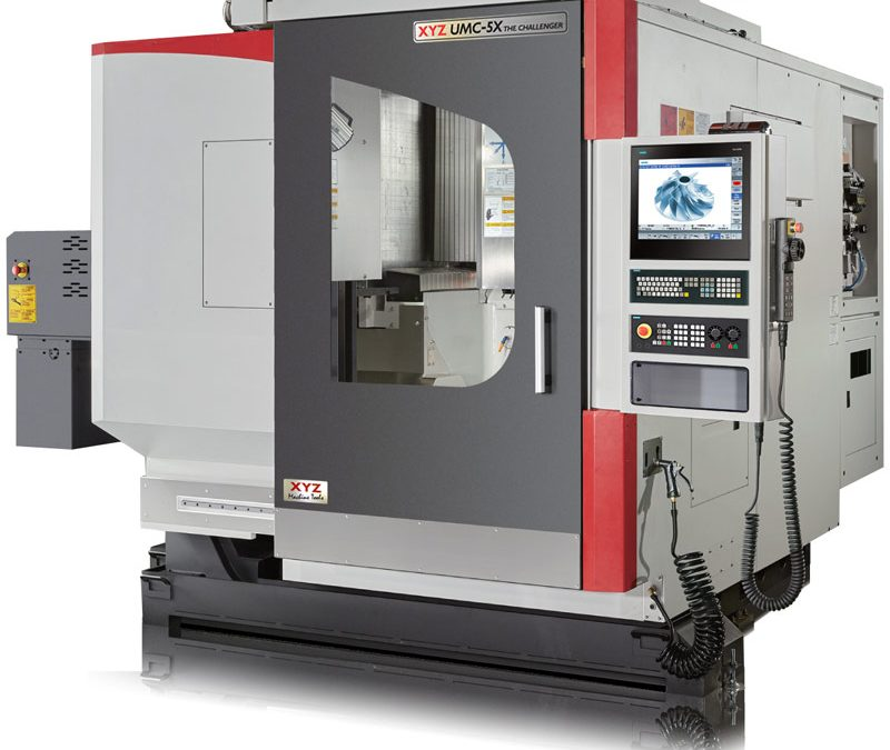 XYZ challenges the market with five-axis launch