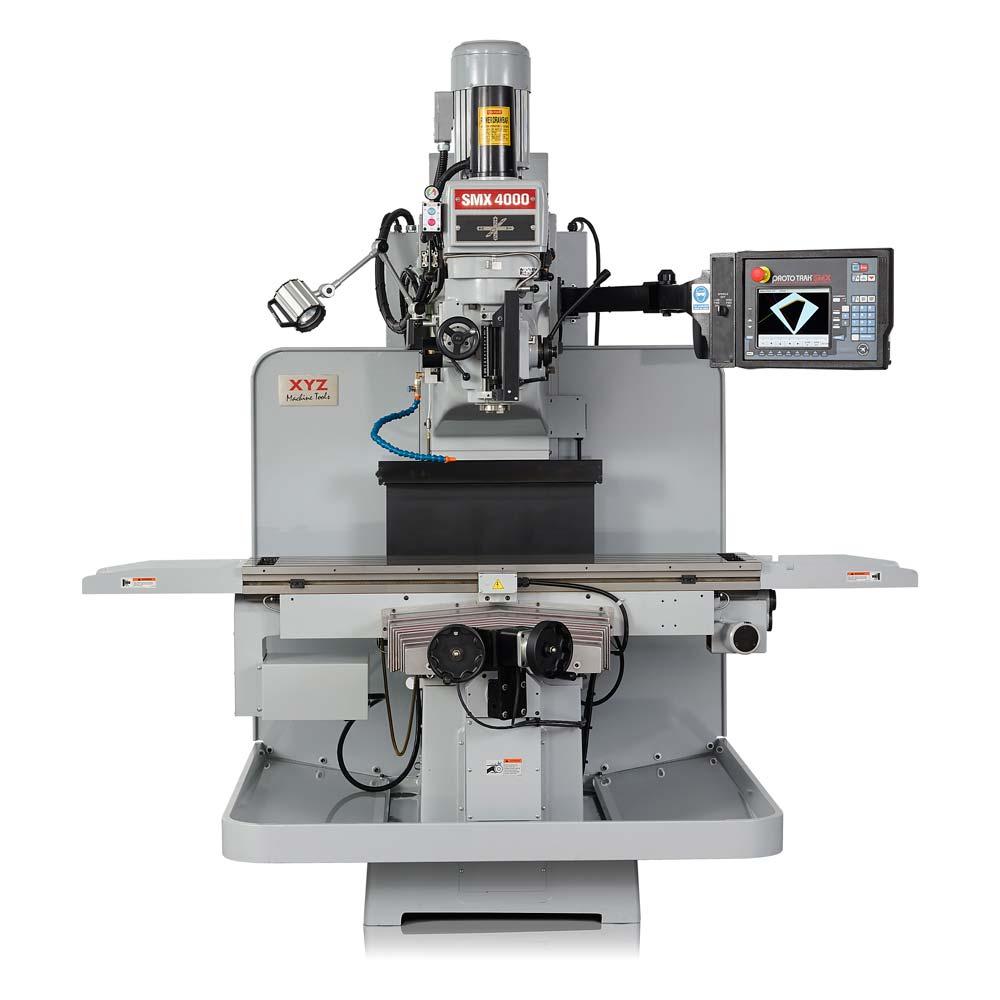 smx 4000 cnc milling machine xyz machine tools