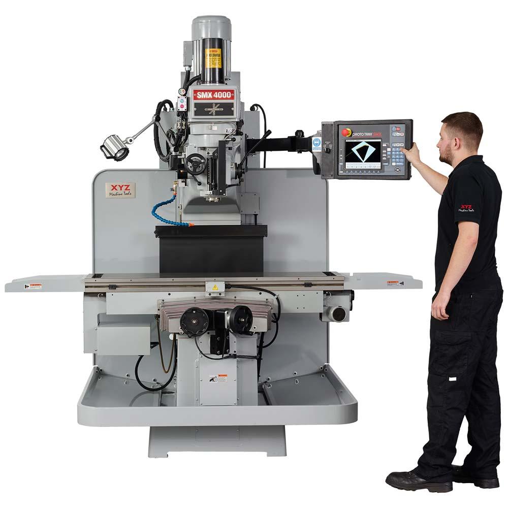 smx 4000 cnc milling machine xyz machine tools rh xyzmachinetools com