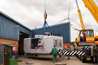 D & D Engineering take delivery of large VMC from XYZ