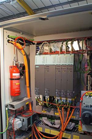 Firetrace fire suppression system