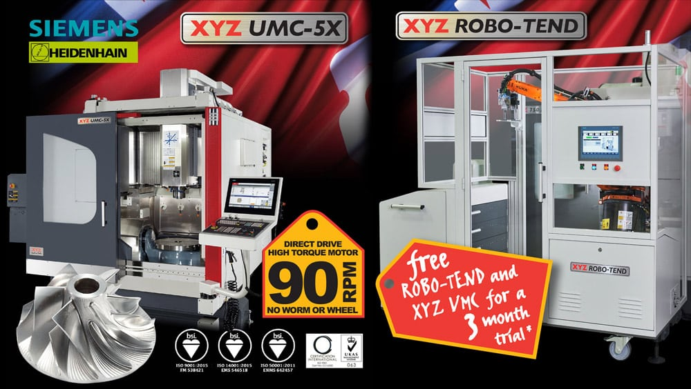 XYZ hosts five-axis and robotic machine tending seminar at the MTC