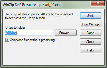 PMX 40 Install