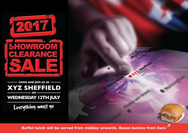Sheffield 2017 Showroom Clearance