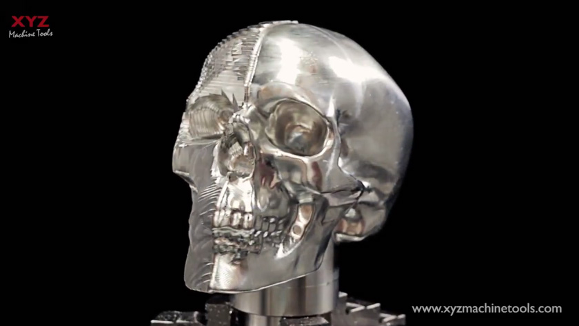 CNC Machining a Skull