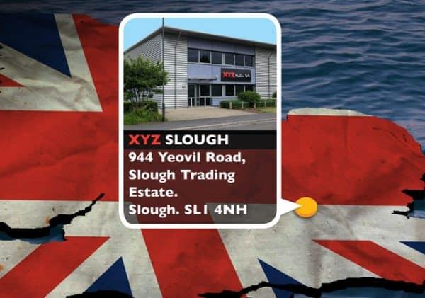 XYZ Slough Location